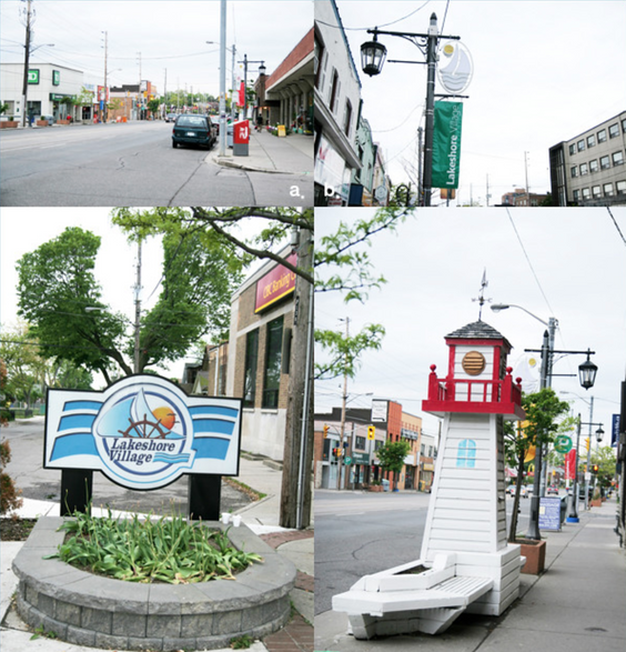 Lakeshore Village street lamp picture