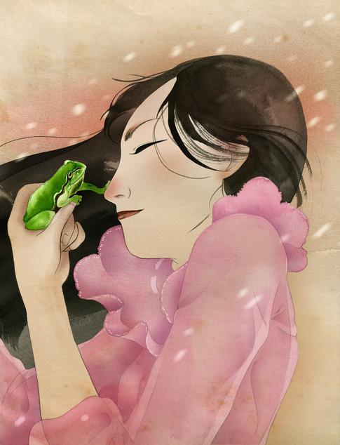 The flog princess