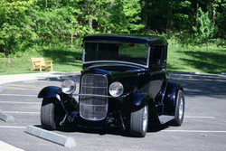 1931 FORD 5 WINDOW COUPE- Total Re-Do using House of Kolor Paint
