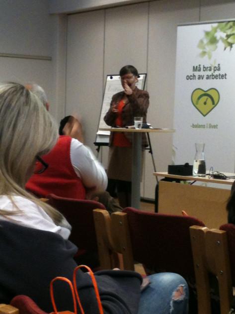 Maria Steinberg, docent i arbetsrätt, i HELSINGBORG