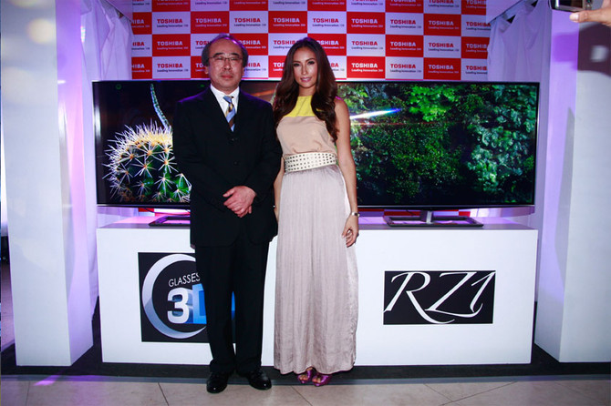 Toshiba Product Launch 2012