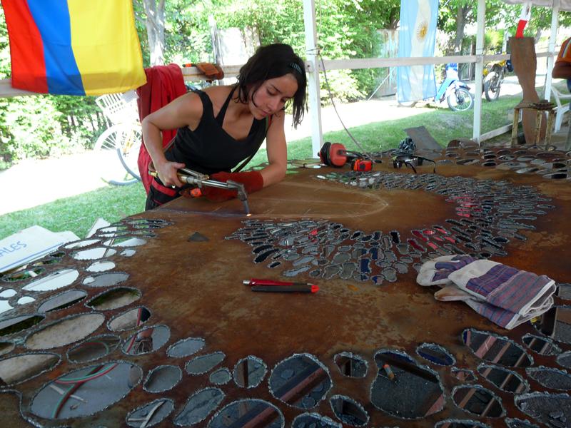 Sandra Lopez colombian sculptor