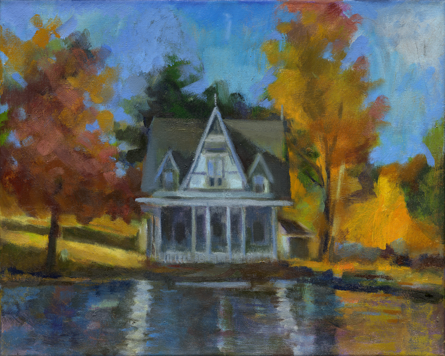 """Lake Carey Victorian Cottage"""