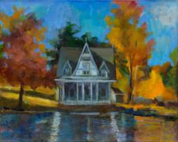 """Lake Carey Victorian Cottage"""
