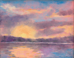 """Lake Carey Sunrise"""