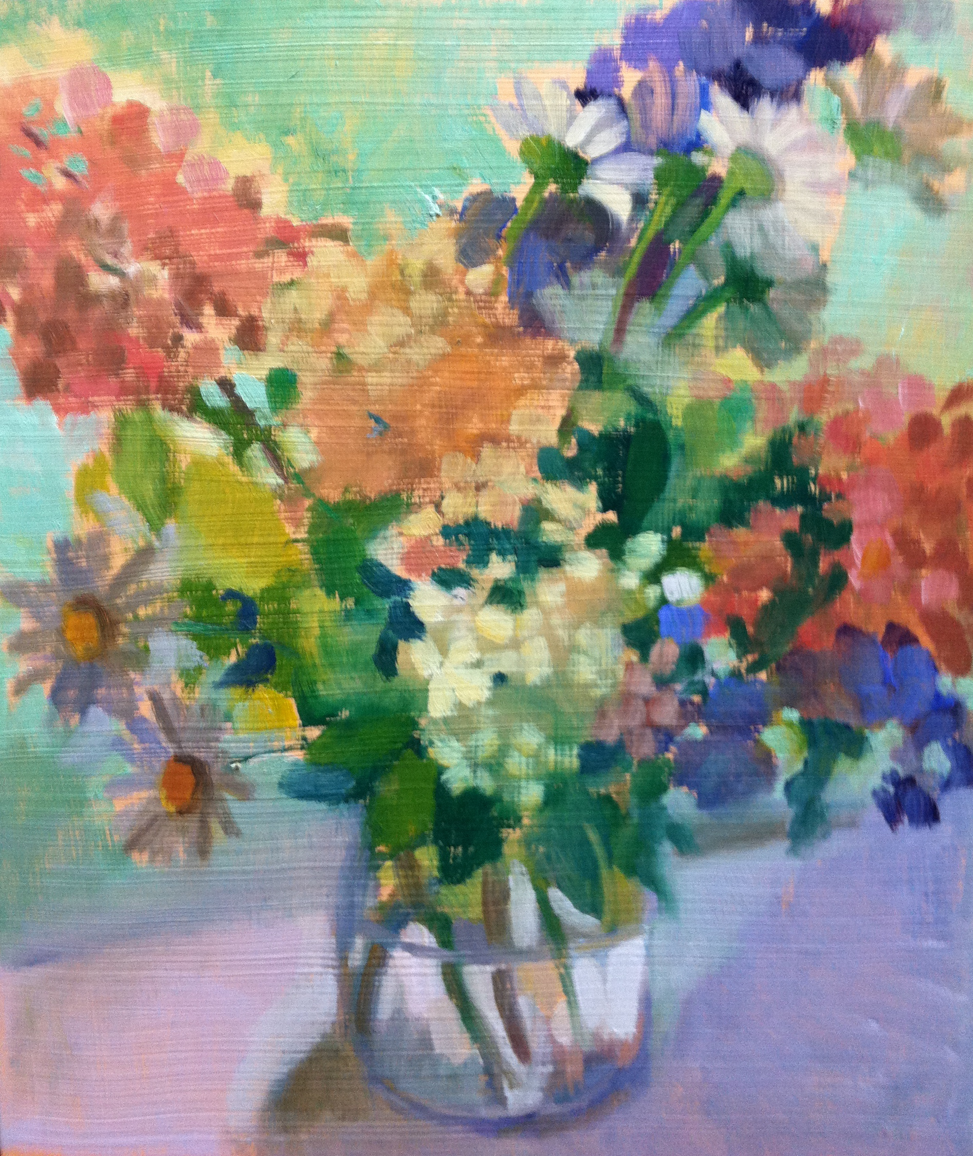 """Summer Bouquet with Monkshood"""