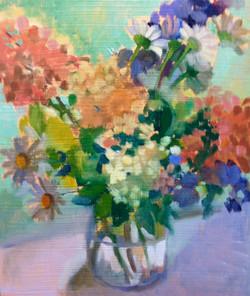 """""""Summer Bouquet with Monkshood"""""""