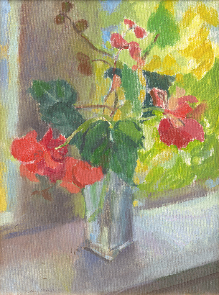 """Begonias on Porch"""