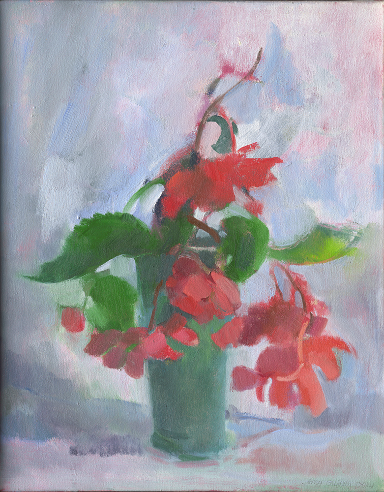 """Begonias"" by Amy Griffith Colley"