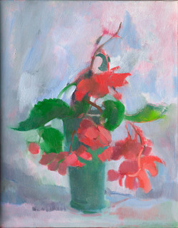 """""""Begonias"""" by Amy Griffith Colley"""