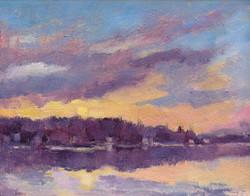 """""""Sunrise at Lake Carey"""""""