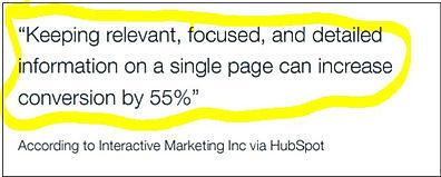 interactive marketing inc. conversion report