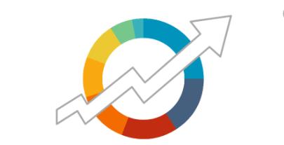 animation arrow showing upward trend