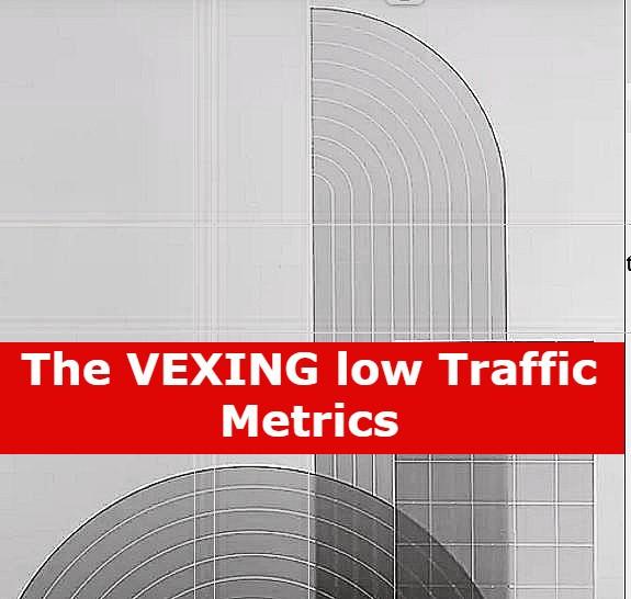 showing low metric