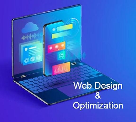 abstract web design concept