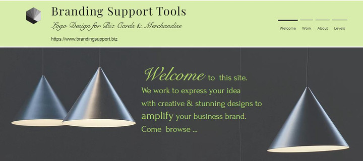 Branding Support HOME Site