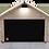 Mähroboter Garage Holz mit Tor für Automower 305 310 315X 320 420 430X 440 450X