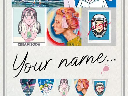 【展示】2021.3.22 mon-4.6 tue Group Exhibition [Your name...]