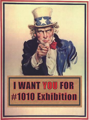 グループ展「#1010展」参加者募集開始します