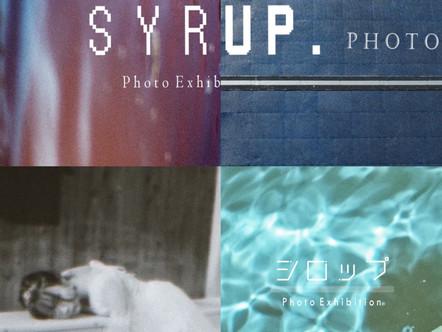 【展示】2021 6.4 fri-6.30 wed Group Photo exhibition [SYRUP.]
