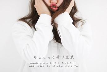 2017  7/21 fri - 7/23 sun (時間変動制) group photo exhibition [ちょこっと寄り道展] ※入場無料