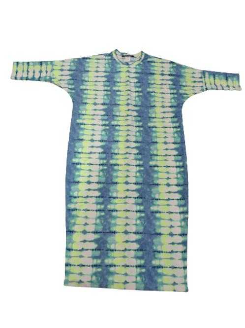 Ladies dolman sleeve swim dress ( generous cut)