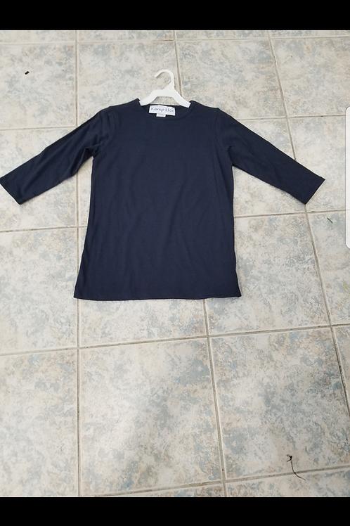 Kids navy T-shirts