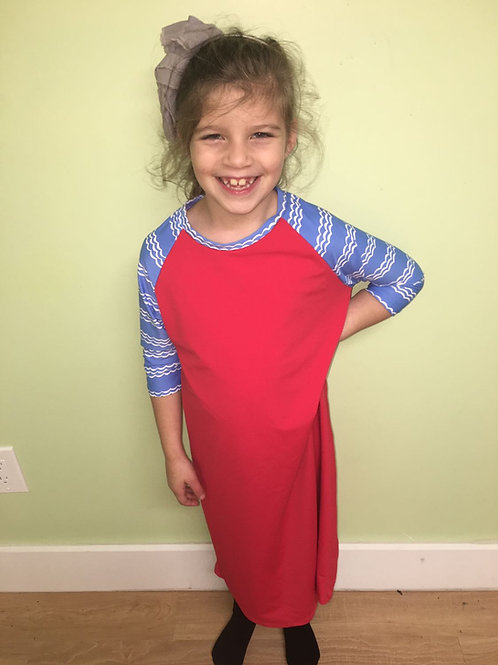 GIRL SWIM DRESS