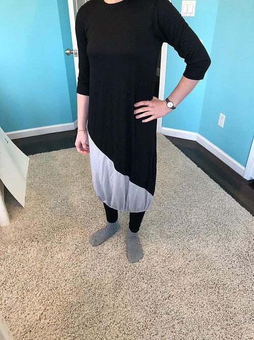 LADIES 2 TONE BUBBLE DRESS