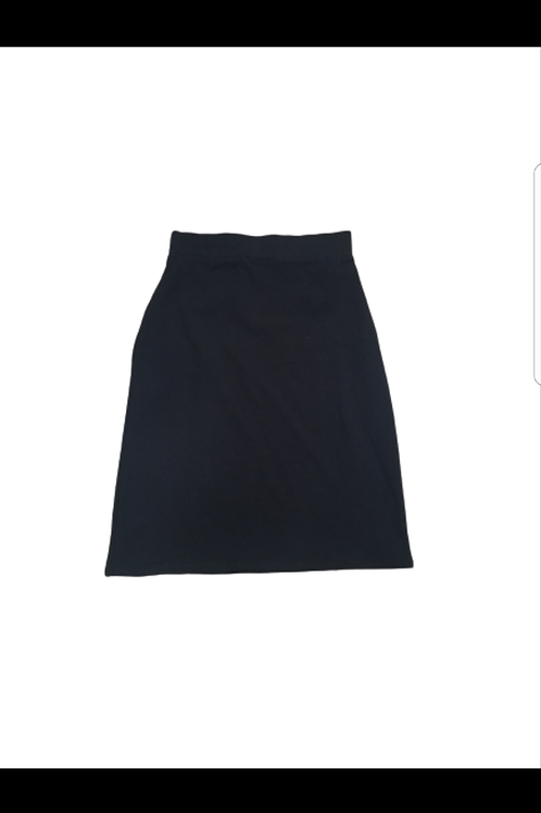 Kids black pencil skirt