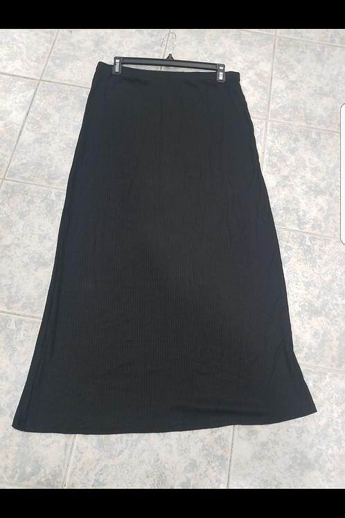 Ladies straight ribbed skirt