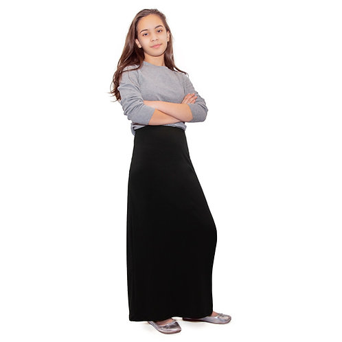 Girls straight  model   skirt