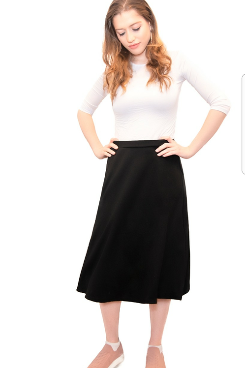 Ladies A line skirt (ponte fabric)