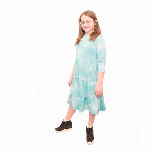 Kids 3 tiered dress