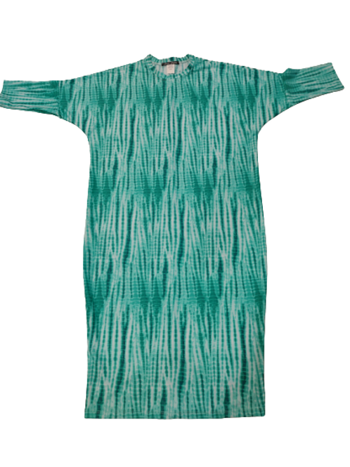 Ladies dolman sleeve swim dress (generous cut)