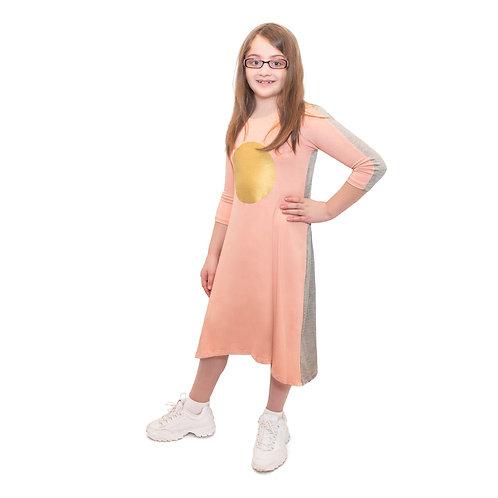 Girls 2 tone nightgown play dress
