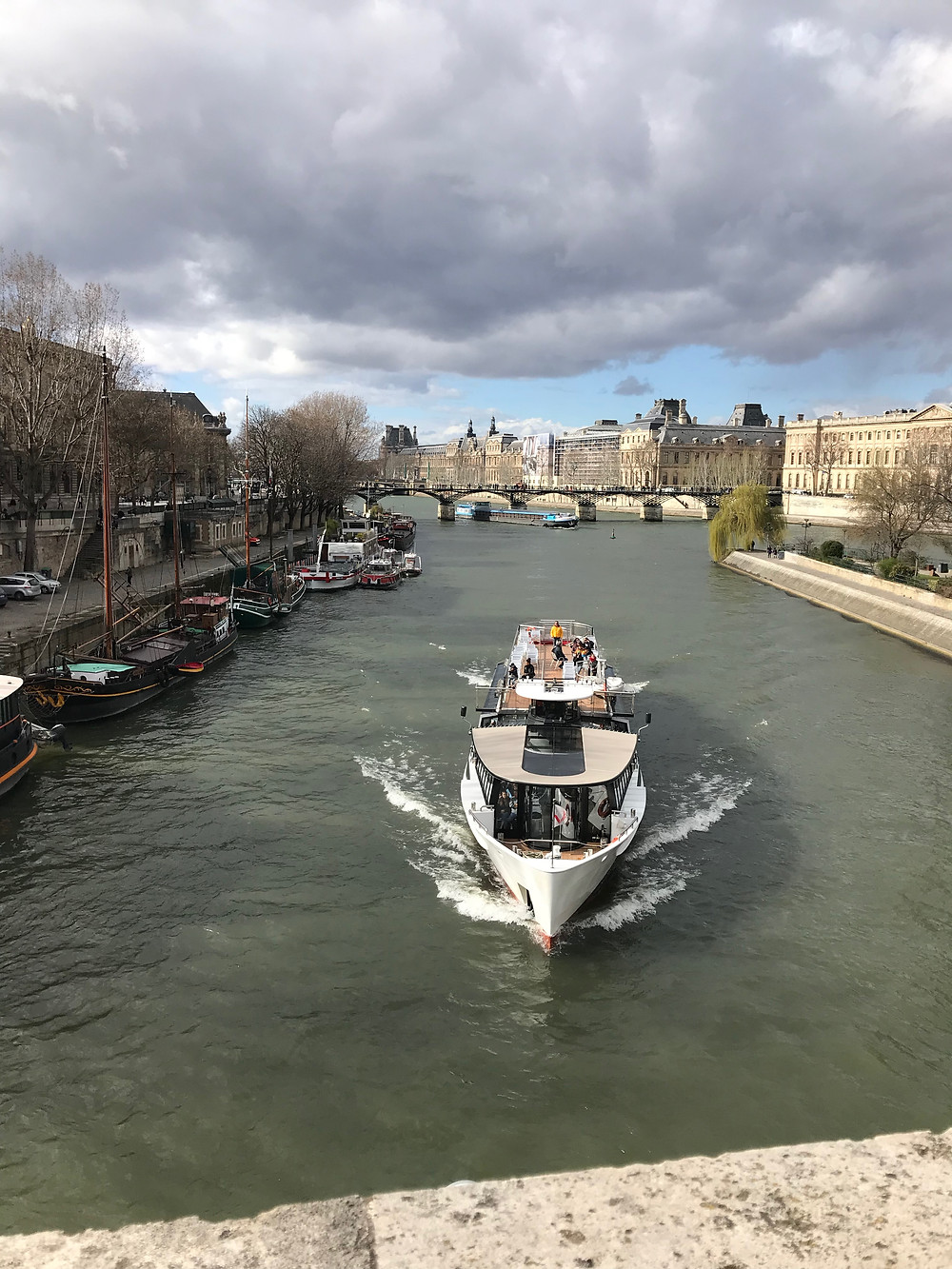 Above the Seine
