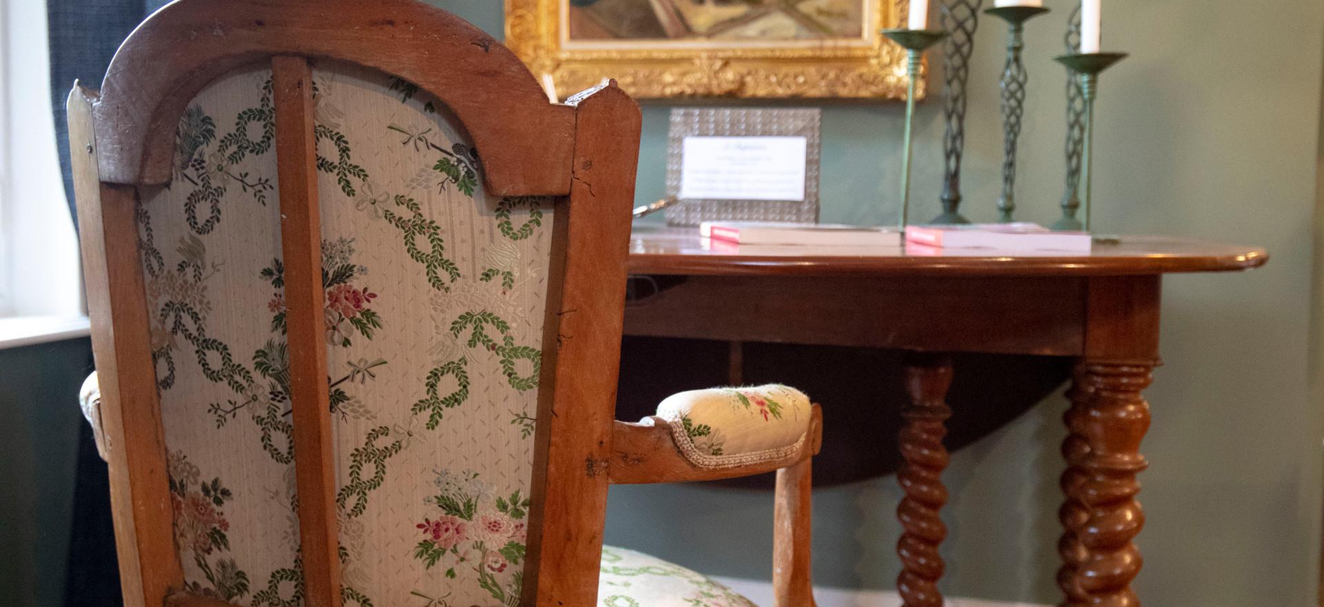 Le bureau de Joséphine