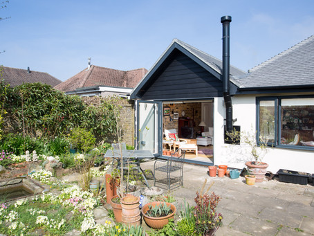 WHAT'S THE PLAN WHEN BUILDING AN EXTENSION?