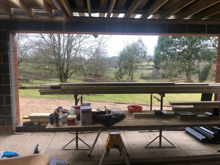 Clean & tidy - if a bit chilly! Tandridge project update