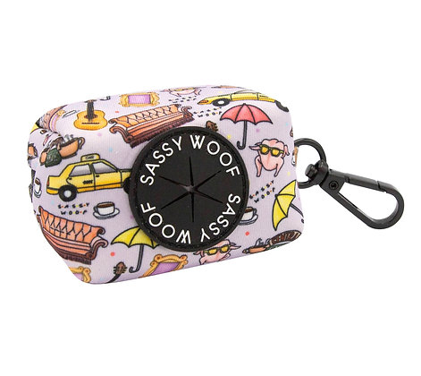 Sassy Woof - Poo Bag Holder - The one with the sassiest woof...