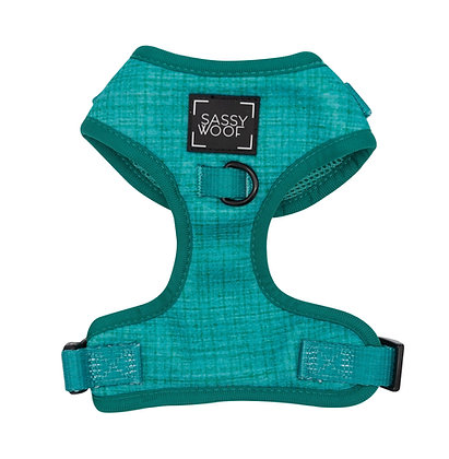 Sassy Woof - Adjustable Harness - Napa