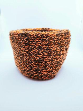 Miss Bouba - Snood - Brown & Orange (dark)