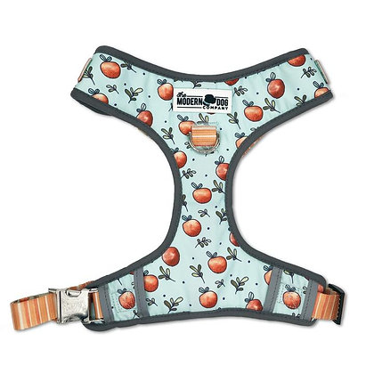 The Modern Dog Company - Adjustable Harness - Feeling Peachy