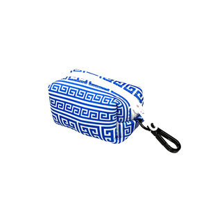 BB Poo Bag Holder - Greek Key