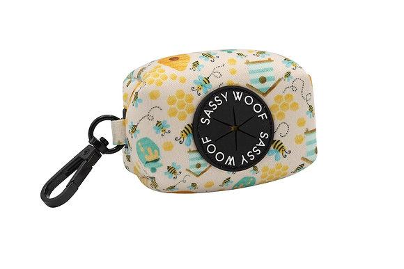 Sassy Woof - Poo Bag Holder -Bee Sassy