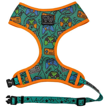 BLD Classic Print Harness - Game Over