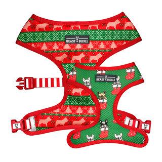 BB -  Christmas Reversible Harness