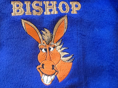 BISHOP MULE, This is just a sample of the embroidery we do,