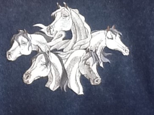 EQUINE COLLAGE.  This is just a sample of the embroiderywe do,